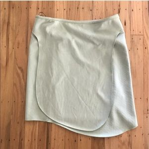 Like new mint green Zara skirt